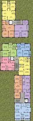 Sweet Sarovar Residency Cluster Plan