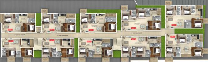 Whitestone Milano Cluster Plan