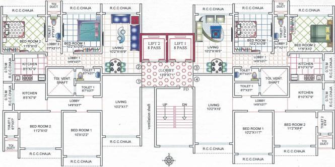Dhariwal Mangaldeep CHSL Cluster Plan