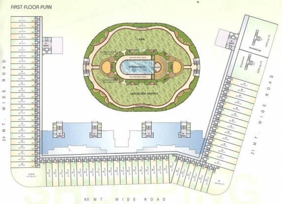 Trishul Patel Heritage Layout Plan
