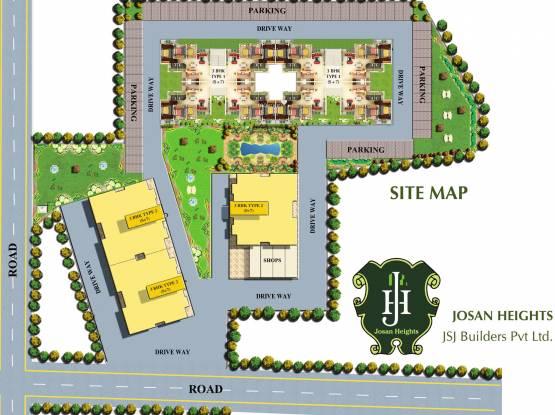JSJ Josan Heights Site Plan