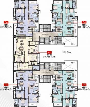 Felicity Irene Usha Tower Cluster Plan