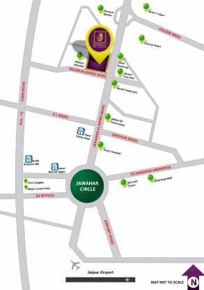 Suncity Jewel of India 1 Location Plan