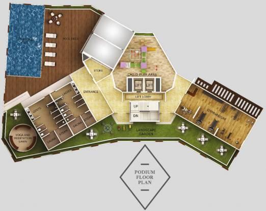 Dheeraj Equest Cluster Plan