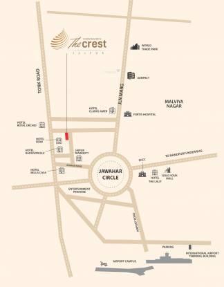 FS The Crest Location Plan