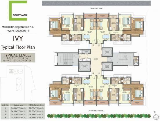 Courtyard Cluster Plan