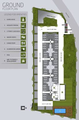 Goyal Orchid Greens Cluster Plan