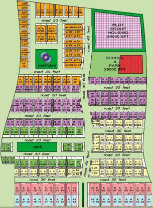 Lucknow Dream Valley Layout Plan