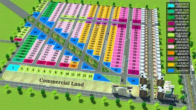Anam Paradise Layout Plan