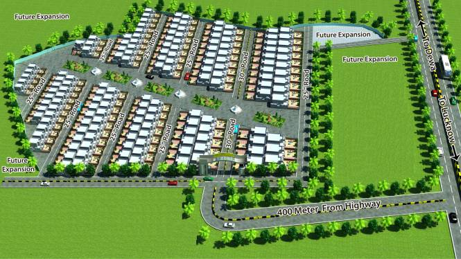 Anam Paradise Site Plan