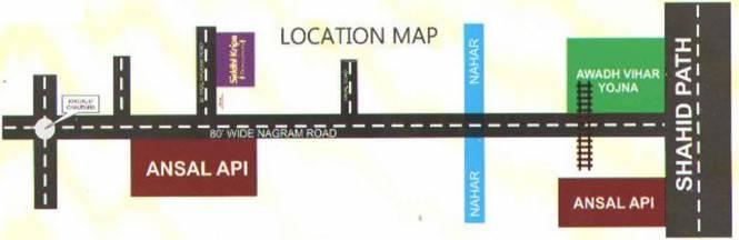 Siddhi Puram 3 Location Plan
