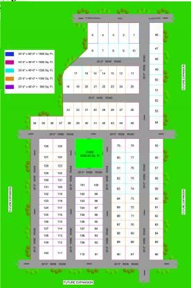 Anam Green City Layout Plan