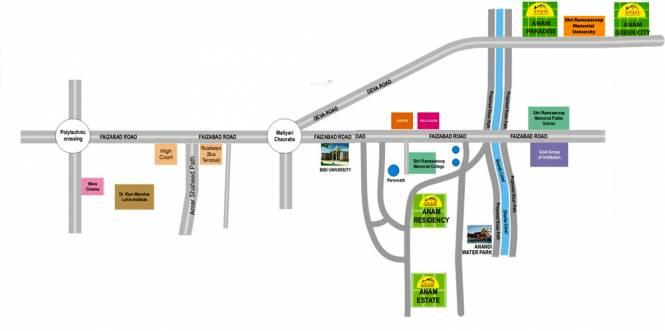 Anam Estate Location Plan