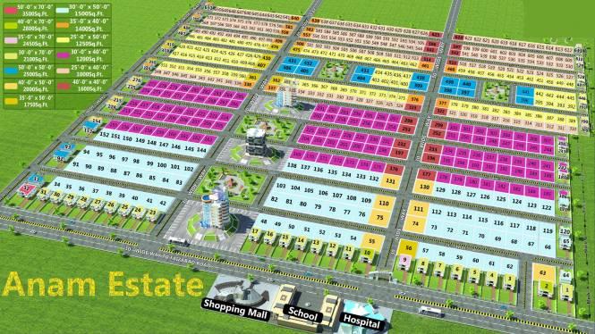 Anam Estate Site Plan