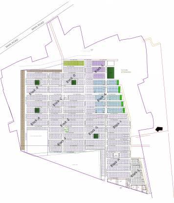 E Square City Layout Plan