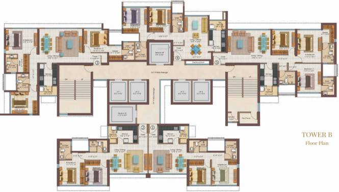 Goodtime Real Estate Development Salsette 27 Cluster Plan