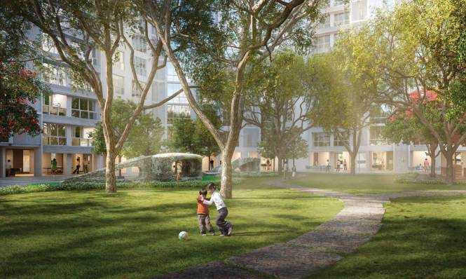 Godrej The Trees Residential Phase 1 Amenities