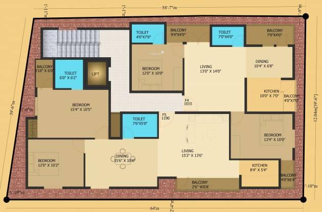 Surath Suraj Residency Cluster Plan
