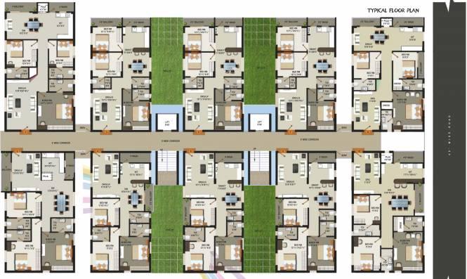 Vaishnavi Pride Cluster Plan