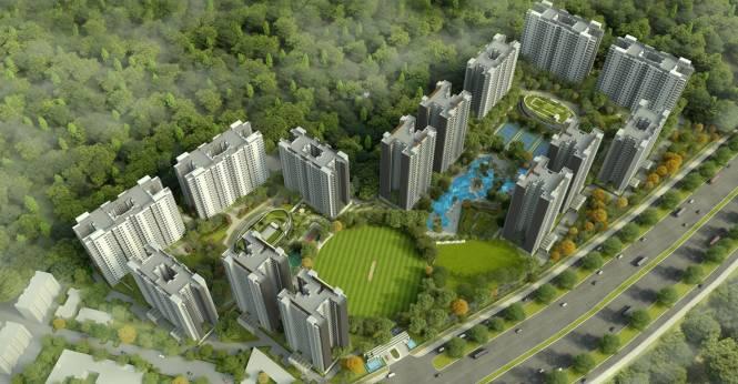 Sobha City Elevation