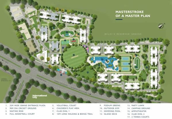 Sobha City Master Plan