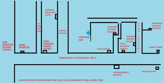 Paradigm One Location Plan
