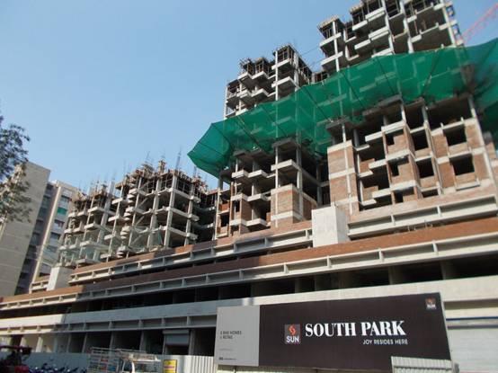 Sun South Park Construction Status