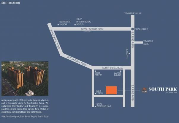 Sun South Park Location Plan