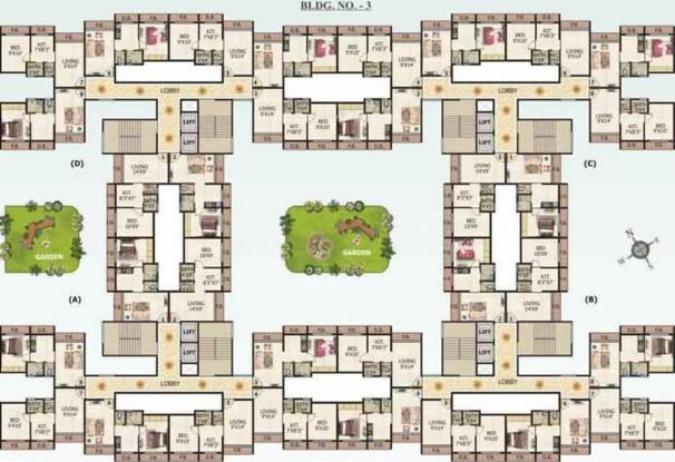 Shree Parasnath Parasnath Nagari Cluster Plan