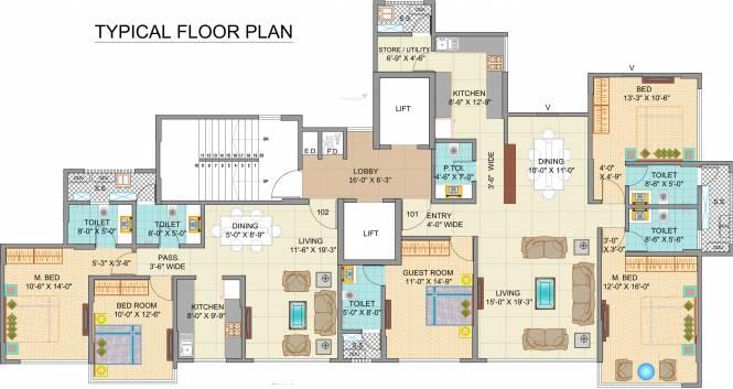 Sheth Aiyana Cluster Plan