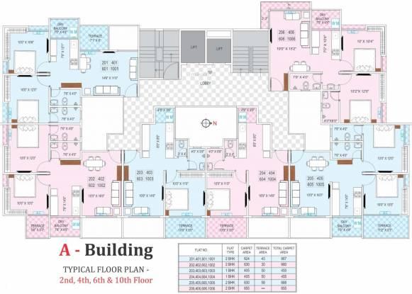 Prime Utsav Homes 2 Cluster Plan