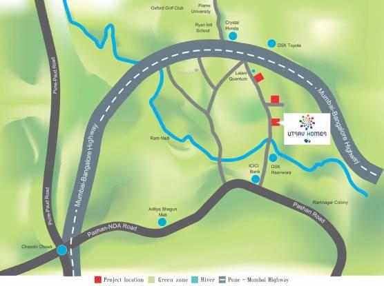 Prime Utsav Homes 2 Location Plan