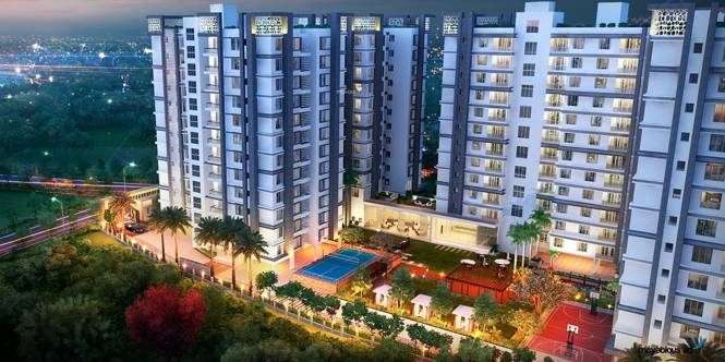 Amit Realty and Shree RSH Group The Ecos Elevation