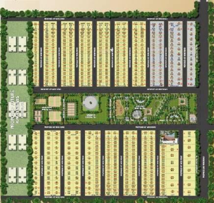 Subhagruha Sukrithi Avanthika Villa Master Plan