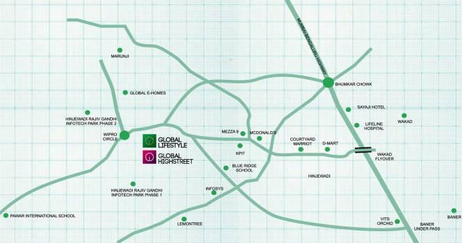 Global Lifestyle Location Plan