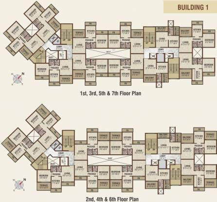Emperia Akshar Emperia Garden Cluster Plan