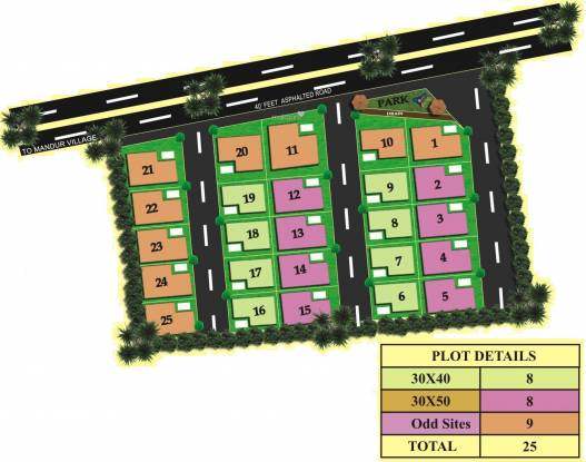 Abhyudaya Rivershine Layout Plan