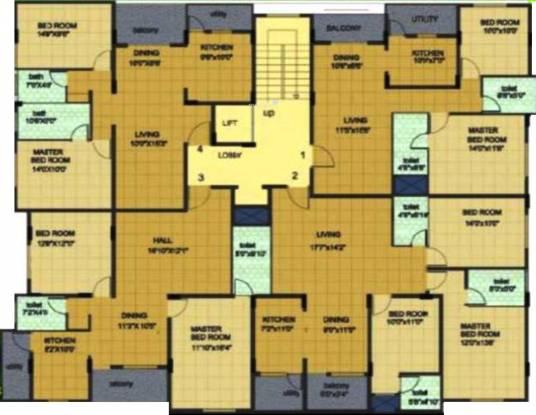 Sun Springs Cluster Plan