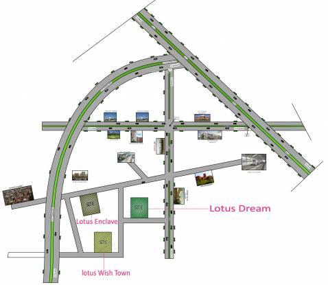 Lotus Dream Location Plan