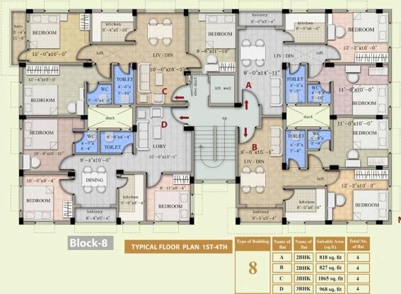 Balaji Crimson 2 Cluster Plan