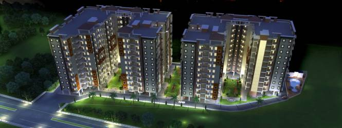 Sukriti Sai Abhishek Residency Elevation