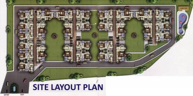 Sukriti Sai Abhishek Residency Site Plan