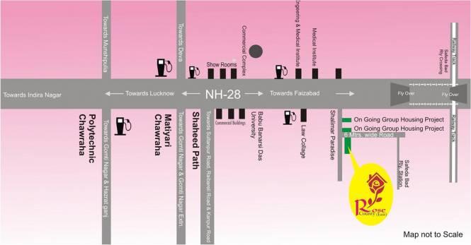 Samiah Rose County Location Plan
