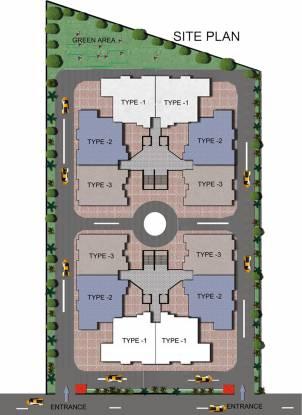 Krishna Super Greens Site Plan