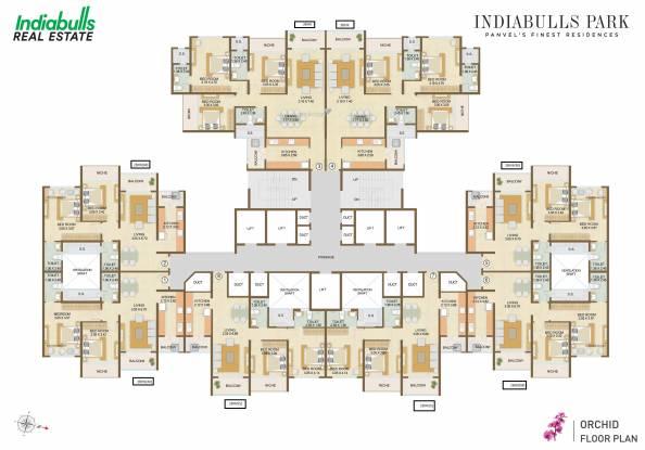 Indiabulls Park Cluster Plan