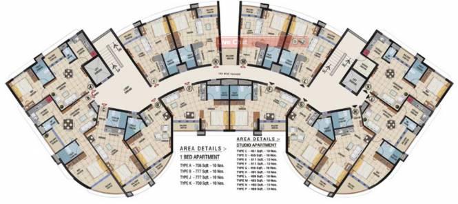 Landmark Acropolis Cluster Plan