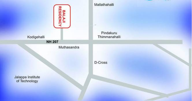 Maxworth Balaji Location Plan