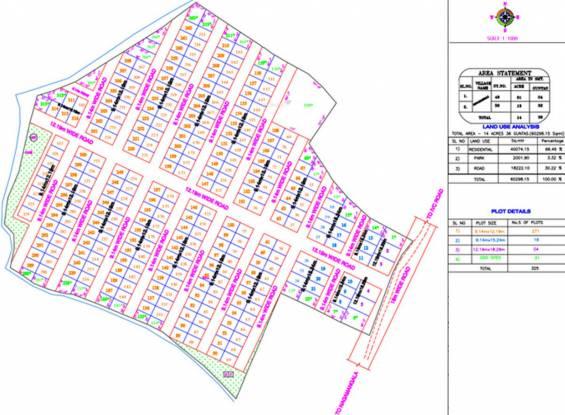 Maxworth Sindhoor Layout Plan