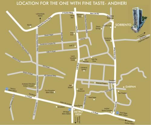 DLH Sorrento Location Plan