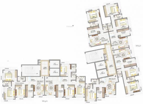 Sidhivinayak Apurva Cluster Plan
